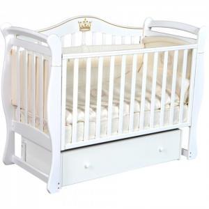 Детская кроватка  Bella 1 универсальный маятник Кедр