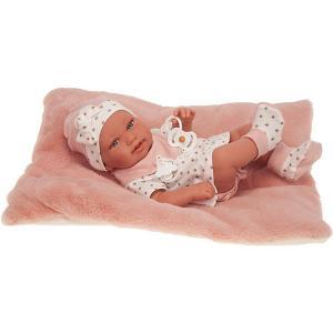Кукла-младенец  Маурисия, 42 см Munecas Antonio Juan. Цвет: розовый