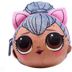 Плюшевая сумочка-антистресс LOL с сюрпризом, Kitty Queen MGA. Цвет: grau/braun