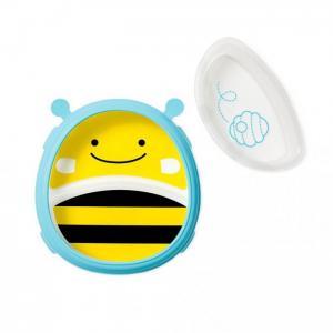 Тарелка 2 в 1 Пчела Skip-Hop