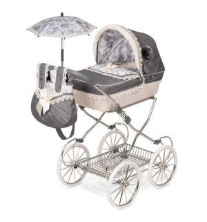 Коляска для кукол  Реборн с сумкой и зонтиком 81 см DeCuevas