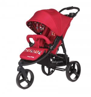 Прогулочная коляска  Jogger Cruze, цвет: red 17 Baby Care