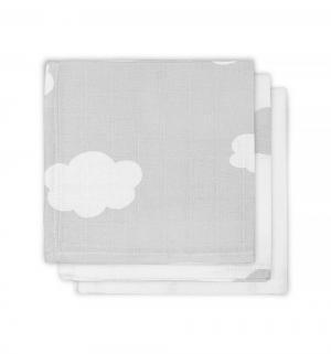 Комплект  Clouds полотенце 3 шт 30 х см, цвет: серый Jollein
