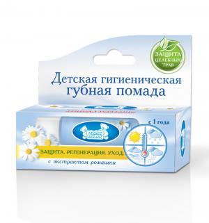 Гигиеническая помада  для губ с ромашкой, 3.5 гр Наша Мама