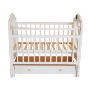 Кроватка  10, цвет: белый Briciola