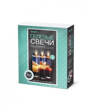 Гелевые свечи с ракушками Набор №1 Josephin