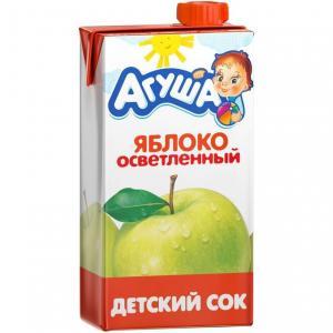 Сок  яблоко, 500 мл Агуша