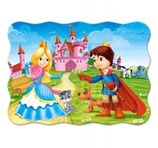 Пазл  midi Принц и принцесса 30 шт. Castorland