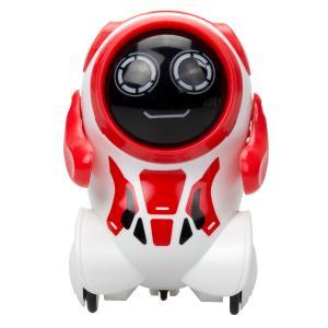 Интерактивный робот  Покибот 7.5 см цвет: красный Silverlit