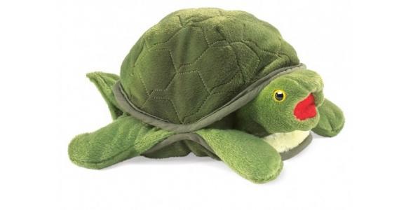 Мягкая игрушка  Черепаха 33 см Folkmanis