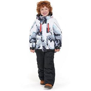 Комплект Oldos Аксель: куртка и полукомбинезон. Цвет: серый