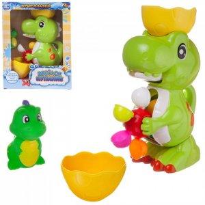 Игровой набор Веселое купание Динозавр-фонтан с динозавриком ABtoys
