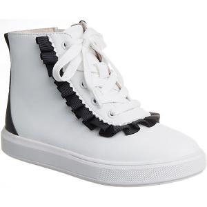 Ботинки  для девочки Vitacci. Цвет: белый