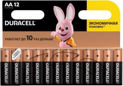 Батарейка алкалиновая Basic AA (LR06) 12 шт. Duracell