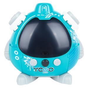 Интерактивный робот  Квизи 9 см цвет: голубой Silverlit