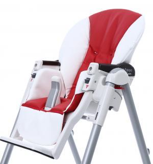 Чехол сменный  к стульчику для кормления Peg-Perego Diner Sport, цвет: white/red Esspero