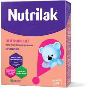 Молочная смесь  Пептиди СЦТ 1 0-12 месяцев, 350 г Nutrilak