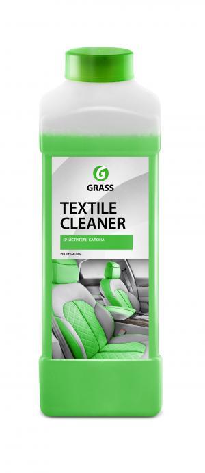 Очиститель  для очистки салона автомобиля Textile-cleaner, 1 л Grass