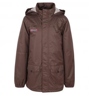 Куртка  Kaarl, цвет: коричневый Luhta