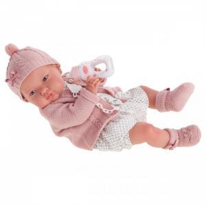 Кукла Реборн Эмилия в розовом 52 см Munecas Antonio Juan