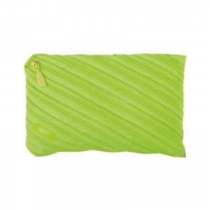 Пенал-сумочка NEON JUMBO POUCH, цвет лайм Zipit