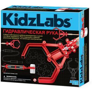 Набор для робототехники  Kidz Labs Гидравлическая рука 4M