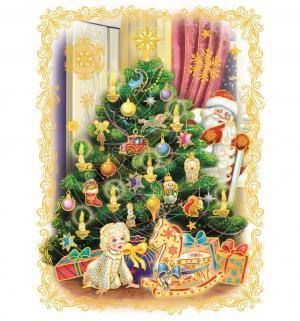 Наклейка  Дед мороз пришел Яркий Праздник