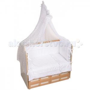 Комплект в кроватку  Нежность (7 предметов) Селена (Сдобина)