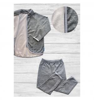 Комплект термобелья кофта/брюки  серый Hippychick