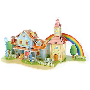 3D пазл  Радужный дом, 39 элементов Funny