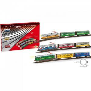 Железная дорога 2,94м круг 1 локомотив 2 вагона 201 Pequetren