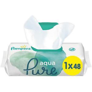 Детские влажные салфетки  Aqua Pure, 48 шт Pampers