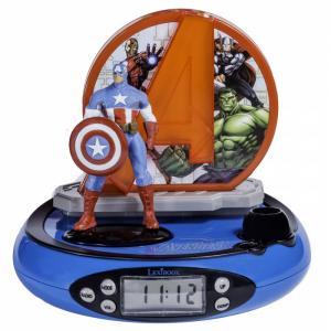 Часы  Будильник Мстители Lexibook