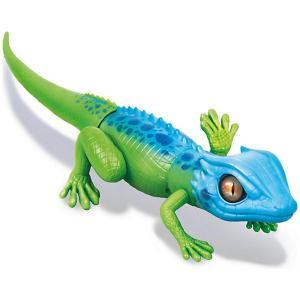 Интерактивная игрушка Zuru Робо-ящерица, сине-зеленая (движение). Цвет: синий/зеленый