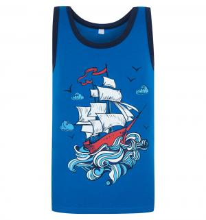 Майка  Sea Travel, цвет: синий Leader Kids
