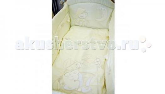 Комплект в кроватку  Сладких снов (7 предметов) Селена (Сдобина)