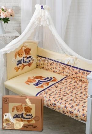 Комплект в кроватку  Умки (7 предметов) Золотой Гусь