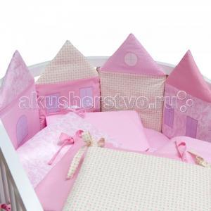 Комплект в кроватку  Домики (14 предметов) Alis