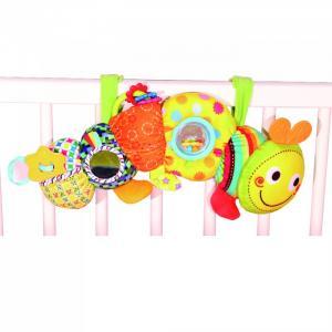 Мягкая игрушка Забавная Гусеница Biba Toys