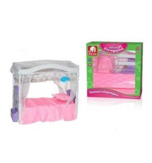 Мебель для кукол  Кроватка Наша Игрушка