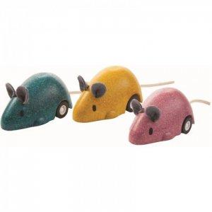 Деревянная игрушка  Мышь двигающаяся 4611 Plan Toys