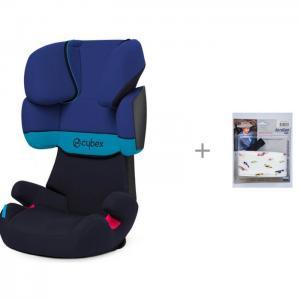 Автокресло  Solution X и АвтоБра Фиксатор головы ребенка для автокресла Cybex