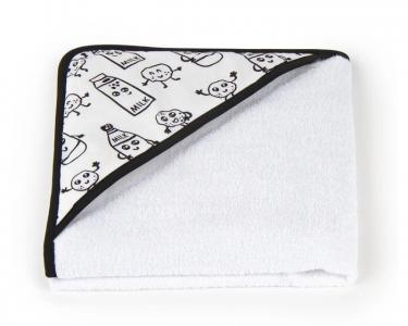 Полотенце с капюшоном Молочко 75х100 см Золотой Гусь