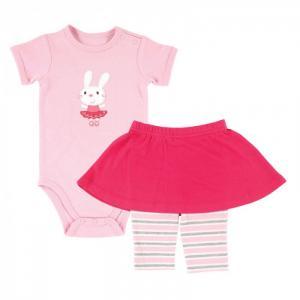 Комплект Боди и юбка-леггинсы (2 предмета) Hudson Baby