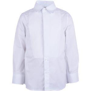 Сорочка  для мальчика Gulliver. Цвет: белый