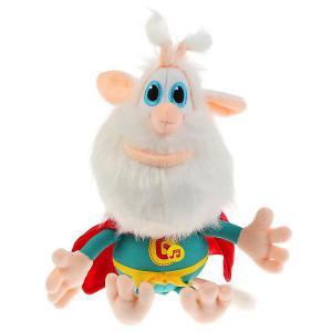 Мягкая игрушка  Буба супер-герой, 20 см, со звуком Мульти-Пульти. Цвет: разноцветный