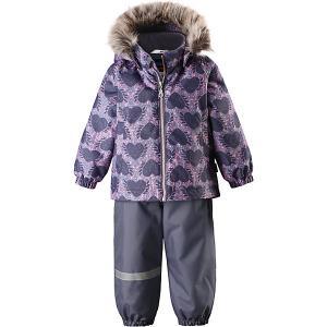 Комплект  : куртка и брюки Lassie. Цвет: серый