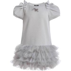 Нарядное платье Gulliver. Цвет: белый