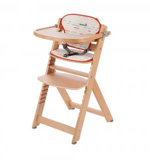 Стульчик для кормления  Timba with Tray and Cushion с мягким вкладышем, цвет: natural wood Safety 1st