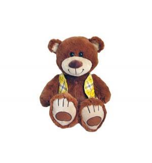 Мягкая игрушка  Мишка Тепа в жилетке коричневый 27 см Fluffy Family